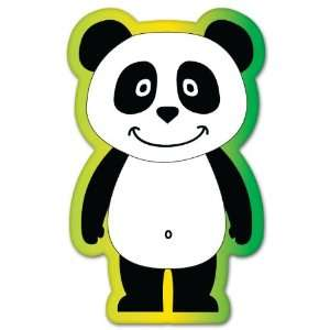 Panda animal kids bumper sticker 3 x 5 Automotive
