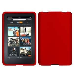 com Cbus Wireless Red Silicone Case / Skin / Cover for  Kindle