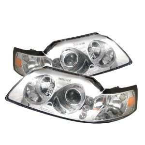Ford Mustang Led 1Pc Projector Headlights / Head Lamps