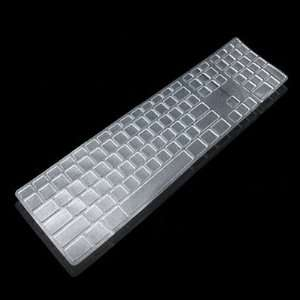 com Computer Desktop Keyboard Protector Silicone Skin Cover for Apple