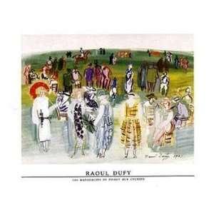 Mannequins de Poiret aux Cours   Poster by Raoul Dufy