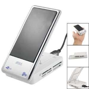 Gino Micro SD TF M2 MMC MS Duo 6 Slots Memory Card Reader