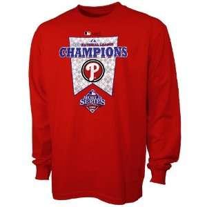 Majestic Philadelphia Phillies Red 2008 MLB National League Champions