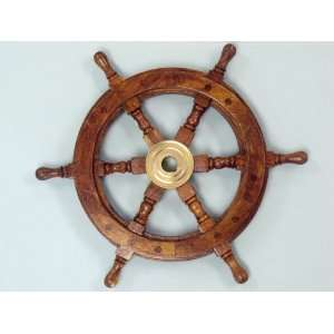 Ship Wheel 12   Wooden Ship Wheels   Model Ship Wood