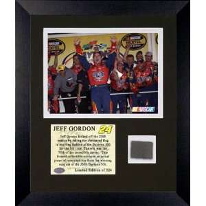 Jeff Gordon   2005 Daytona 500 Champion   Framed 6x8