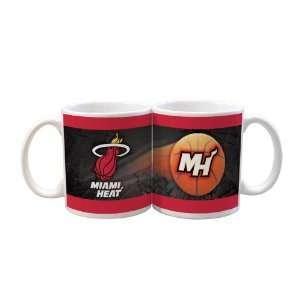 NBA Miami Heat 2 Pack 11oz White SportsBall Mug  Sports