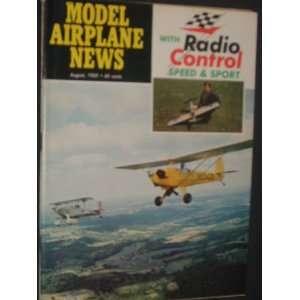 Model Airplane News (August, 1969): Staff: Books