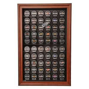 Detroit Red Wings 60 Hockey Puck Display Case, Cabinet