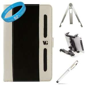 Portfolio Leather Carrying Case Cover  Nook Color