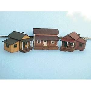 Alpine HO Old Town Homes Kit, Three Pack Toys & Games