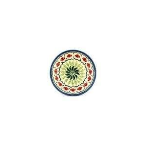 Boleslawiec Polish Pottery plate H3254B signature pattern