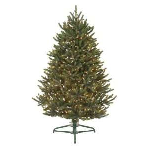 Lighting Anabell 4 1/2 Foot Tabletop Christmas Tree Prelit with Clear