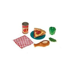 Fisher Price Pizza Combo Pretend   Play Food: Toys & Games