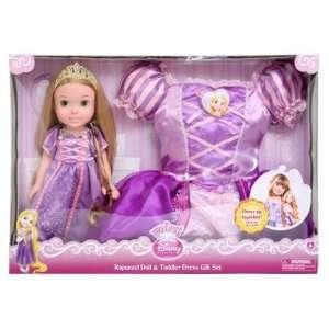My First Disney Princess Rapunzel Doll & Toddler Dress Gift Set  Toys