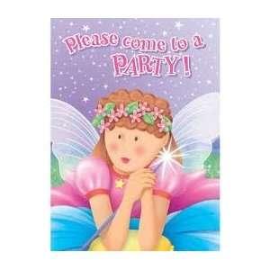 Fairy Princess Birthday Party Invitations   Fairy Princess Birthday