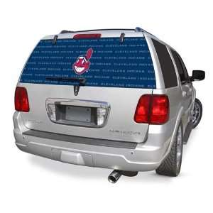 Cleveland Indians Rear Window Rearz Sticker   Decal