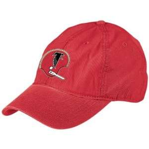 NFL Reebok Atlanta Falcons Red Garment Washed Throwback Helmet Relaxed