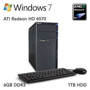 Acer Aspire AM3400 U4132 Refurbished Desktop Computers & Accessories