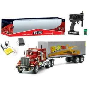 com Remote Control 4 Feet Trailer Tractor RC 114 Scale Toys & Games