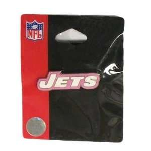 NFL NEW YORK JETS PINK COLLECTIBLE VINTAGE LOGO PIN WOMEN