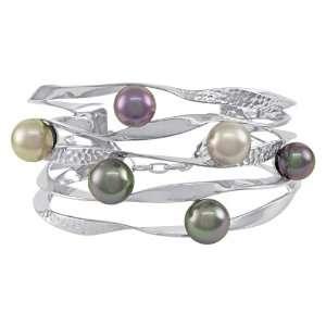 Majorica Jewelry Pearl Ribbon Cuff Bracelet Jewelry