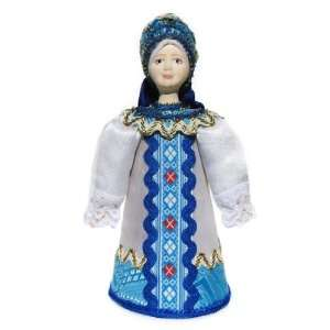 GreatRussianGifts Snowflake Porcelain Doll Toys & Games