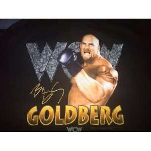 WCW/NWO Bill Goldberg Extra Large (XL) Black T Shirt WWF WWE ECW TNA