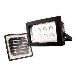 Solar Powered LED Floodlight for Continuous Lighting