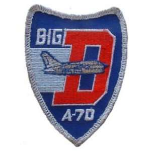 U.S. Air Force A 7D BIG D Patch Red & Blue 3 Patio, Lawn