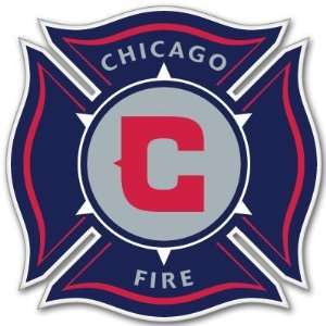 Chicago Fire MLS Soccer sticker decal decal 4 x 4