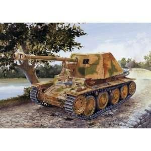 SdKfz 139 PzJager Marder III WWII Tank (Plastic Models) Toys & Games