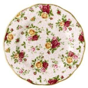 Royal Albert Collectible Teas   Soft Pink Lace Dessert Plate, 8 NEW