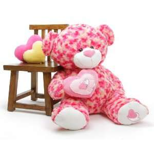Love Extra Large Cosmic Valentines Day Teddy Bear 42 in Toys & Games
