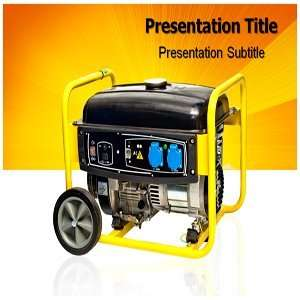 Power supply PowerPoint Template   Power supply PowerPoint