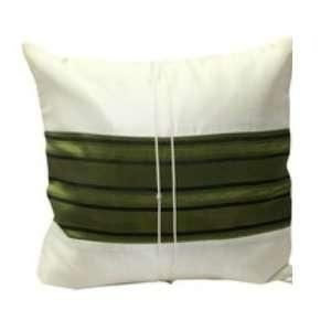 Pattern 12x12 Decorative Silk Throw Pillow Cover