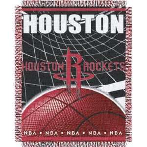 Houston Rockets NBA Woven Jacquard Champs Throws