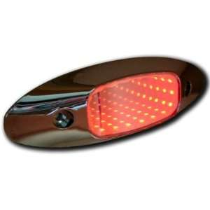 (1) Red LED Truck Trailer Marker Clearance Lights Automotive