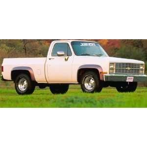 8390 73 80 Chevy/GMC Blazer, Jimmy, Suburban & Truck Fender Flares Set