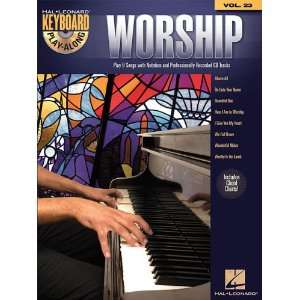 Worship   Keyboard Play Along Volume 23 (Book/Cd
