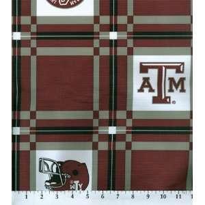 Texas A&M Tablecloth Vinyl: Home & Kitchen