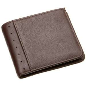 Mens Money Wallet Collection Bifold Coin Wallet (Brown) Electronics