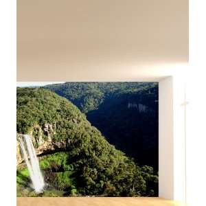 Wall Mural Decal Sticker Brazil Caracol Water Falls 6ft