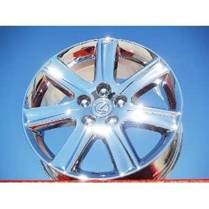 Lexus ES350 Set of 4 genuine factory 17inch chrome wheels Automotive