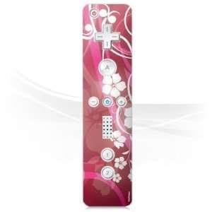 for Nintendo Wii Controller   Pink Flower Design Folie Electronics