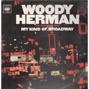 MY KIND OF BROADWAY LP (VINYL) UK CBS 1965 WOODY HERMAN Music
