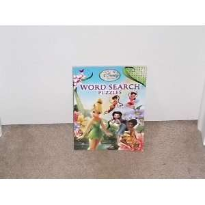 Disney Fairies Word Search Puzzles Book Toys & Games