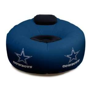 Dallas Cowboys Inflatable NFL Chair   42 x 42 x 28
