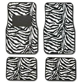 FH FB121115 Zebra Prints Car Seat Covers, Airbag ready and
