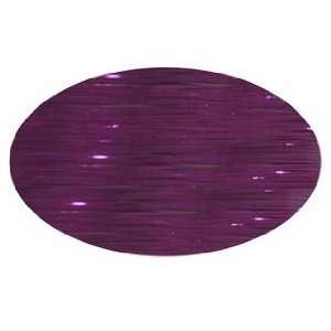 Piz Zaz Hair Glimmer Tinsel Velvet Purple Extensions + Hair Art Pin