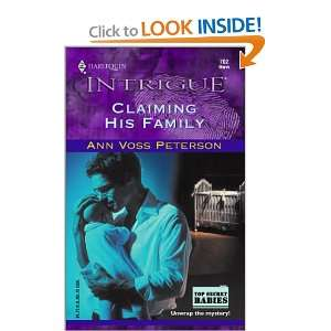 Claiming His Family (Top Secret Babies, Book 8) (Harlequin